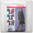 Simplicity Pattern 4014 Plus Size 10 - 18 Karen Z Design Womens Misses Unlined Coat Jacket Dress