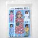 Butterick Pattern B3875 One Size 18 Inches Doll Wardrobe Clothes
