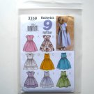 Butterick Pattern B3350 Size 2 - 5 9 Sew Easy Childrens Girls Fancy Dress