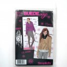 Misses Jackets 14 16 18 20 22 SUEDE Says Simplicity Pattern 2056