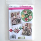Simplicity Pattern 2492 Size S - L Crafts Childs Misses Apron Kitchen Accessories