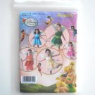 Simplicity Pattern 2559 Size 1/2 - 4 Toddler Child Disney Tinker Bell Fairies Halloween Costumes