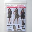 Simplicity Pattern 3533 Size 6 - 14 Easy To Sew Misses Dress Top Shrug Bag