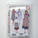 Simplicity Pattern 3544 Size S - L Theresa LaQuey Retro Vintage 48 52 Misses Aprons
