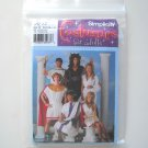 Simplicity Pattern 3647 Size XS - XL Andrea Schewe Misses Men Teen Unisex Toga Party Costumes