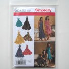 Simplicity Pattern 3823 Size 6 - 14 In K Designs Misses Womens Halter Dresses
