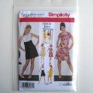 Simplicity Pattern 3833 Size 14 - 22 1960s Retro Misses Miss Petite Dresses