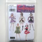 Simplicity Pattern 4046 Size 6 - 12 Elaine Heigl Designs Misses Adult Sexy Halloween Costumes