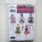 Simplicity Pattern 4046 Size 14 - 20 Elaine Heigl Designs Misses Adult Sexy Halloween Costumes