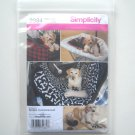 Simplicity Pattern 2984 Designs Robin Greenwood Travel Accessories for Dogs Car Seat Cover