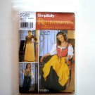 Simplicity Pattern 5582 Size 4 - 10 Andrea Schewe Womens Misses Renaissance Costumes