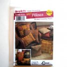 Accessories Round Square Pillows Andrea Schewe Easy Simplicity Pattern 5685
