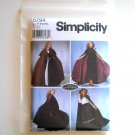 Simplicity Pattern 5794 Size XS - L Teresa Nordstrom Womens Misses Capes Customes