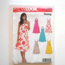 Misses Summer Dresses Size 8 - 18 Womens New Look Simplicity Pattern 6557