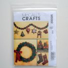 McCall Pattern M6002 Out of Print Stockings Wreath Ornaments Garland