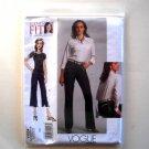 Todays Fit Jeans Vogue Designer Pattern V1034 Out Of Print