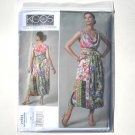 Vogue Designer Pattern V1244 Koos Couture Size 8 - 14 Top and Reversible Skirt