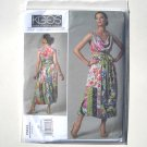 Vogue Designer Pattern V1244 Koos Couture Size 14 - 20 Top and Reversible Skirt