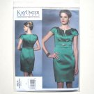 Vogue Designer Pattern V1271 Size 6 - 14 Kay Unger Misses Evening Dress