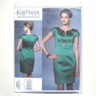 Misses Evening Dress Size 14 - 22 Kay Unger Vogue Designer Pattern V1271