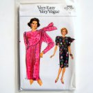 Misses Straight Dress Size 12 Vogue Very Easy Vintage Pattern 9466