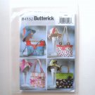 Butterick Pattern B4532 Handbags Totes and Matching Hat