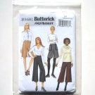 Butterick Pattern B5681 Fast Easy Size 18 - 24 Misses Culottes