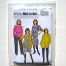 Butterick Pattern B5692 Size 18W - 24W Womens Petite Cardigan Top Tunic Dress Belt Pants