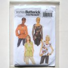 Butterick Pattern B5709 Fast Easy Size 8 - 16 Misses Top and Belt