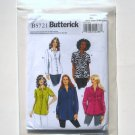 Butterick Pattern B5721 Easy Size 26W - 32W Womens Shirt