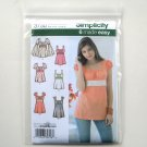 Misses Tunic Top Simplicity Pattern 3750 Size K5 8 - 16