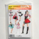 Misses Red Riding Hood Costumes HH 6 - 12 Simplicity Sewing Pattern 0511