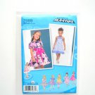 Girls Dress 05 - 3 Project Runway Simplicity Sewing Pattern 2989