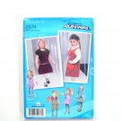 Girls Toddlers Childs Jumper Skirt 05 - 3 Project Runway Simplicity Sewing Pattern 2574
