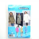 Miss Petite Lined Coat Jacket 14 - 22 Project Runway Simplicity Sewing Pattern 2508