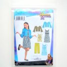 Girl Plus Jacket Pants Dress Disney Hannah Montana 8.5 - 16.5 Simplicity Sewing Pattern 3515