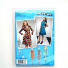 Misses Miss Petite Dress Tunic 4 - 12 Project Runway Simplicity Sewing Pattern 2307