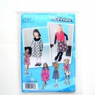 Toddlers Girls Dress Jumper Vest 05 - 3 Project Runway Simplicity Sewing Pattern 2157