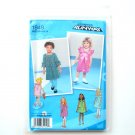 Toddlers Girls Dress 4 - 8 Project Runway Simplicity Sewing Pattern 1949