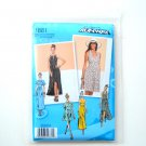Womens Misses Knit Dress 4 - 12 Project Runway Simplicity Sewing Pattern 1881