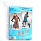 Misses Petite Dress Tunic Project Runway Simplicity Sewing Pattern 2307