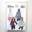 Misses' Loose Fit Tops Size XS - M Butterick Pattern B5854