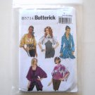 Misses' Jacket and Belt Size XS - M Butterick Pattern B5714