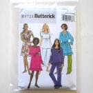 Misses' Robe Belt Top Gown Pants Size XS - M Butterick Pattern B5723