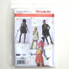 Misses Costumes Size HH 6 - 12 Elaine Heigl Simplicity Sewing Pattern 2525