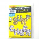 Letter Alphabet Pillows For Dummies Simplicity Sewing Pattern 4928