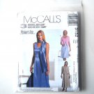 Dress Unlined Jacket Scarf 10 - 14 Womans Day McCalls Sewing Pattern 3152