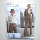 Misses Jacket Pants Size 14 - 22 Out Of Print Anne Klein Vogue Designer Pattern V1325