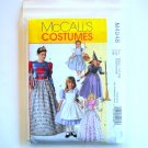 Misses Childrens Girls Costumes Size S - XL McCalls Sewing Pattern M4948