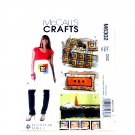 Apron Coasters Runner Pilllows Lap Quilt McCalls Sewing Pattern M6302